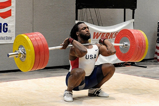 Kendrick Farris would be the first to say, doing THIS in vibrams would be a whole new ball game.