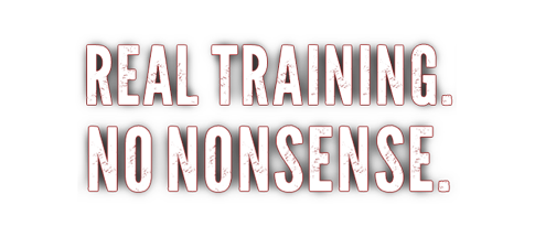 Real Training. No Nonsense.