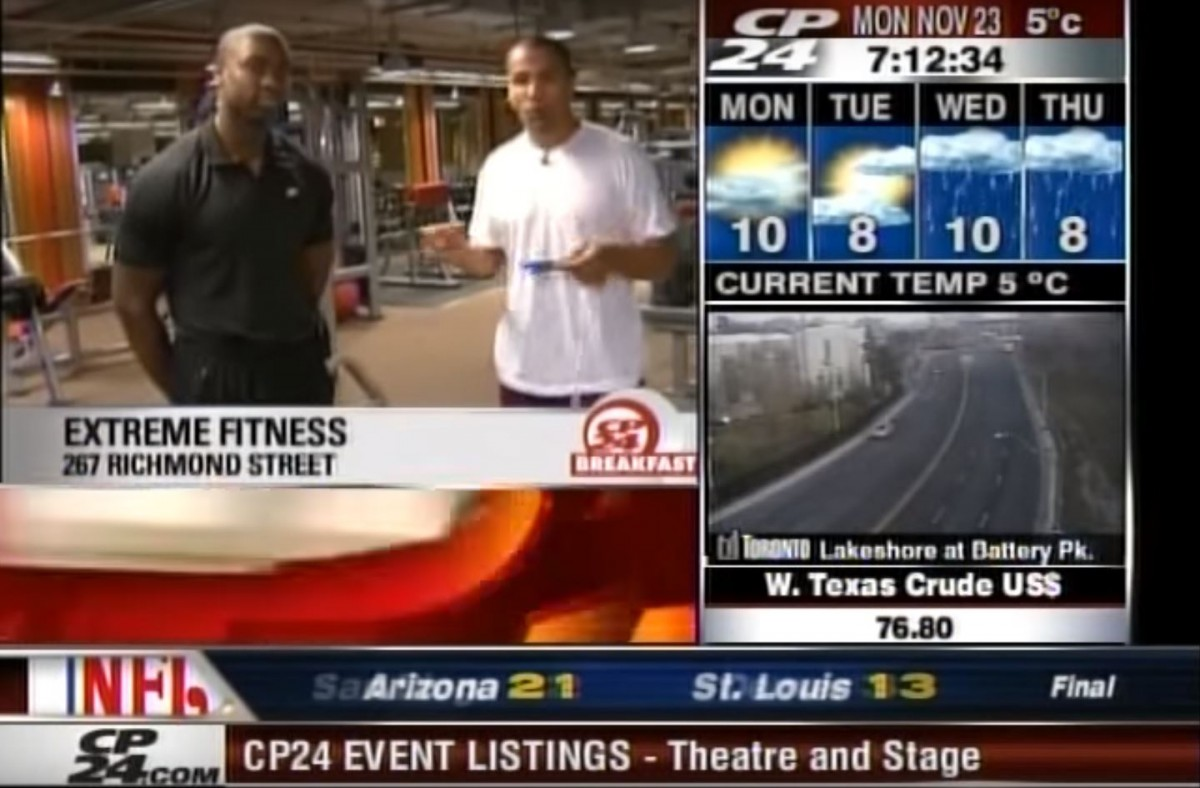 CP24 Breakfast – Get Rockstar Fit (part 1) Featured Image