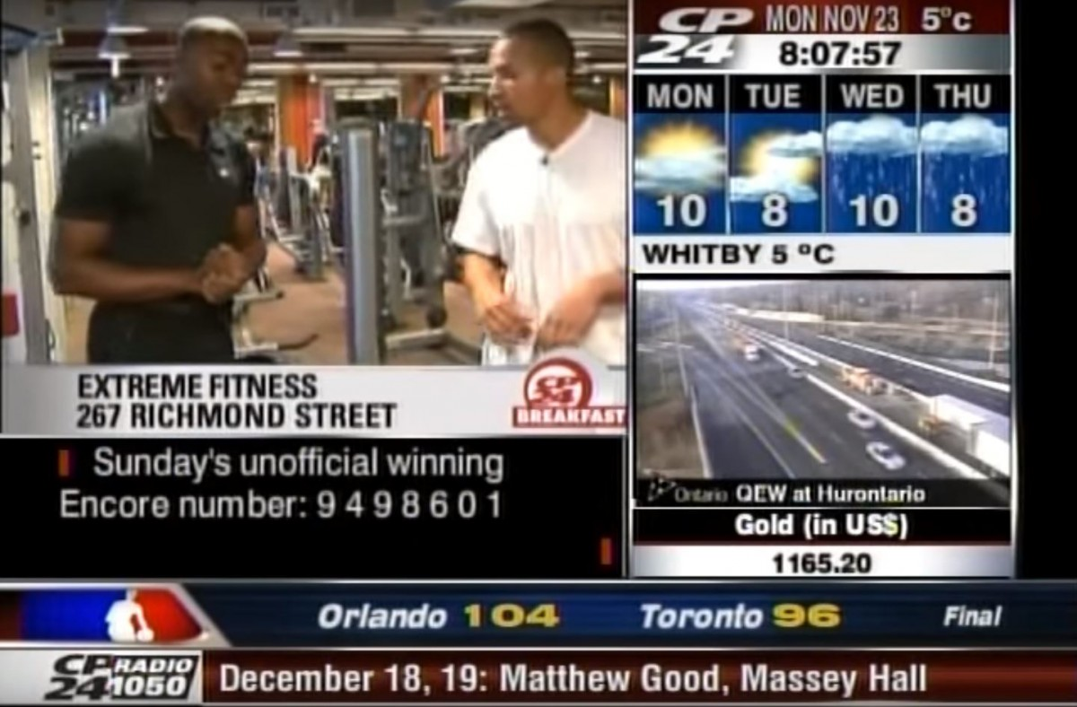CP24 Breakfast – Get Rockstar Fit (part 2) Featured Image