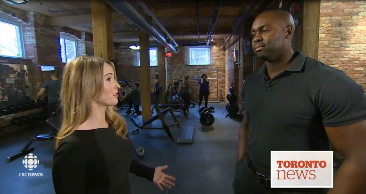 CBC News: Toronto at 6:00 – New Years Resolution Tips for Getting into the Gym Routine Featured Image