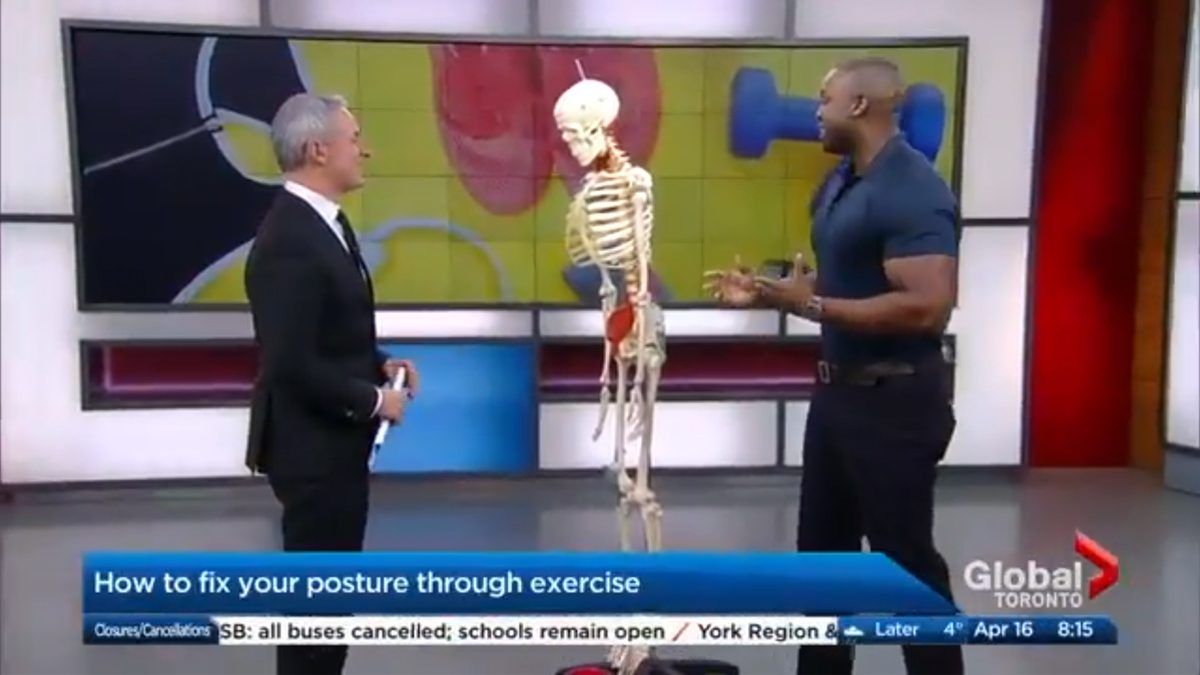The Morning Show – Improving your posture through exercise Featured Image